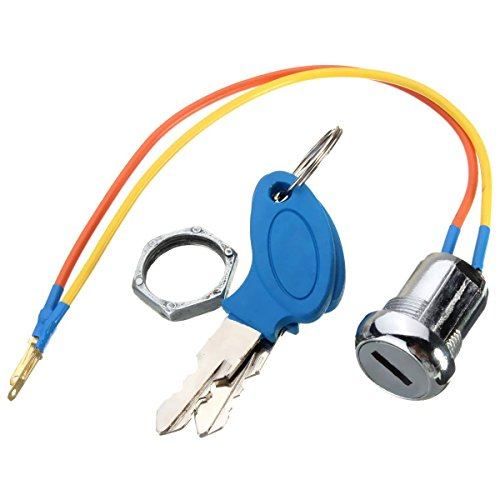 AUDEW 2 Wire Ignition Key Switch for Electric Scooter Bicycle (Race Ignition Switch compare prices)