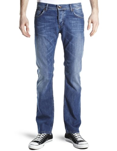 Tommy Hilfiger Men's TH Ryder Jeans Blue Denim Long 30Wx34L