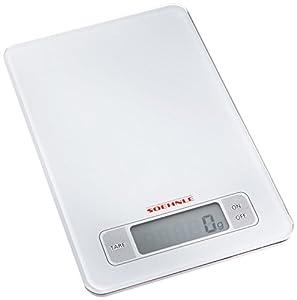 Soehnle 66100 Balance Electronique Page Blanc 5 Kg / 1 g