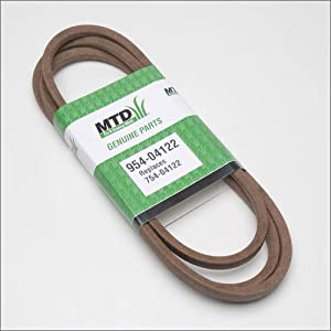 MTD 954-04122 46-Inch Deck Drive Belt for Riding Mower/Tractors, 1/2-Inch by 90 1/4-Inch by MTD