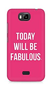 AMEZ today will be fabulous Back Cover For Huawei Honor Bee