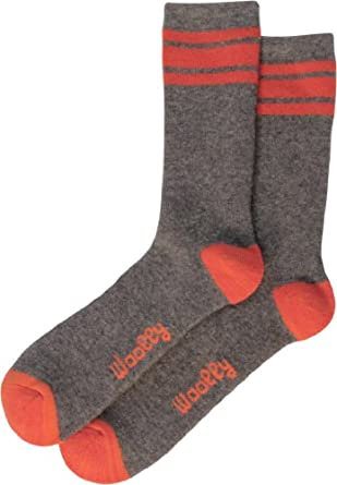 Woolly Clothing Co. Mens Merino Wool Outdoor Sock - (2 pack) by Woolly Clothing Co