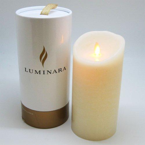 LUMINARA LEDキャンドル アイボリー/香料:オーシャンブリーズ 7インチ【LM201-IV】 LM201(IV)