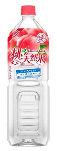 JT 桃の天然水 PET 1.5L×8本