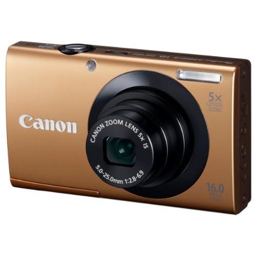 Canon デジタルカメラ PowerShot A3400IS ゴールド 光学5倍ズーム タッチパネル PSA3400IS(GL)