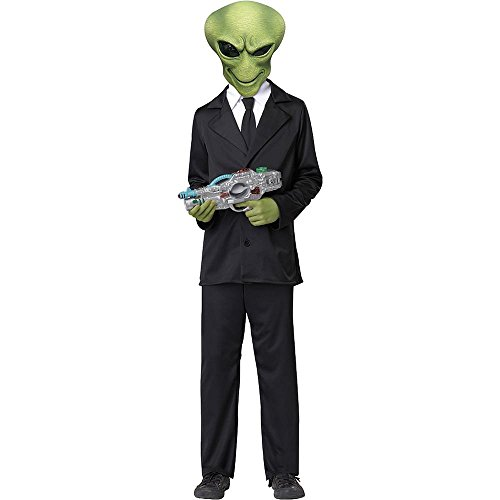 Alien Agent Kids Costume