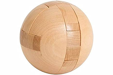 3d Wooden Puzzles Solutions Sphere 3d Wooden Puzzle Brain