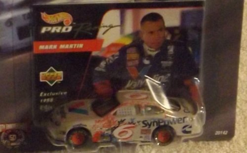 team-hot-wheels-pro-racing-nascar-50th-anniversary-1st-edition-6-mark-martin-ford-taurus-164-scale-b