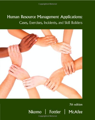 Human Resource Management Applications: Cases, Exercises,...