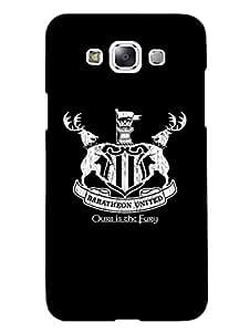 Samsung E7 Back Cover - Game Of Thrones - Baratheon United - Designer Printed Hard Shell Case