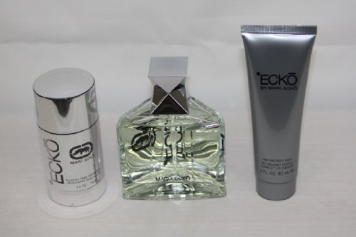 MARC ECKO ECKO 3.4 OZ 3PC GIFT SET 3.3 oz MEN