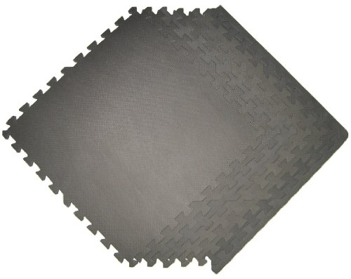 Gray sq ft pack foam interlocking mats anti fatigue