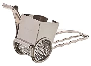 Browne Foodservice 746586 Stainless Steel Jumbo Rotary Cheese Grater, 9-Inch by Browne Foodservice