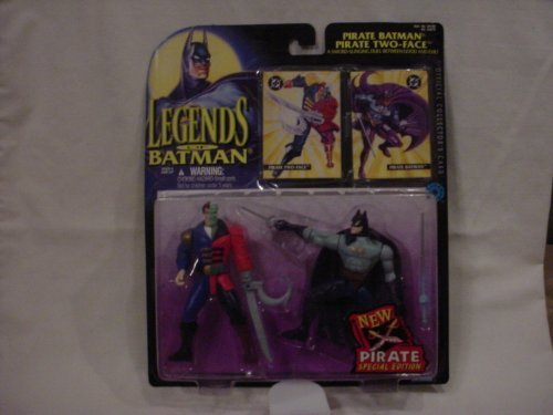 Legends of Batman - Pirate Batman & Pirate Two Face Action Figures - 2 Pack