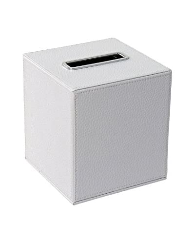 Gedy by Nameek's Vogue Tissue Box Cover AC02-02, White