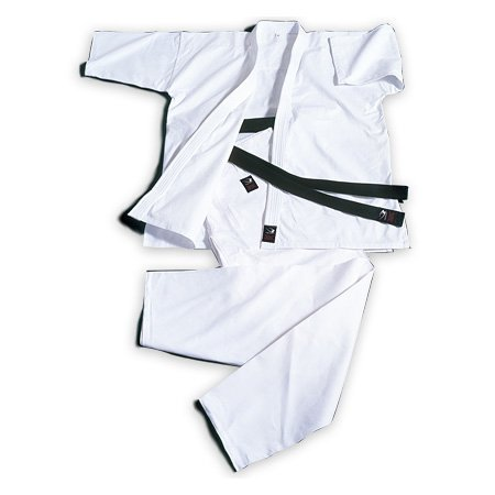 Body maker (BODYMAKER) BB-SPORTS BODYMAKER full contact karate uniform pure white No. 2, with top and bottom set and white band KW2 KW2