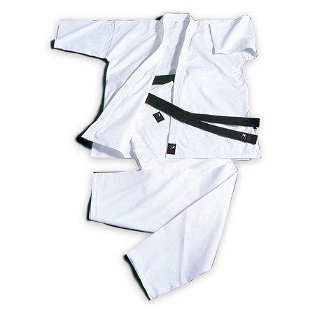 Fabricante (BODYMAKER) BODYMAKER BB-deportes de contacto completo del cuerpo uniforme de karate 1 blanco puro, con tapa y fondo y blanco banda KW1-KW1