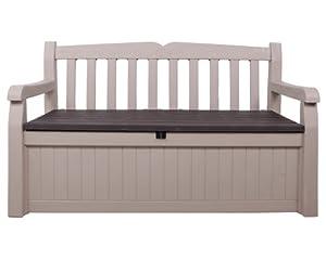 ondis24 eden banc de jardin avec coffre de rangement jardin. Black Bedroom Furniture Sets. Home Design Ideas