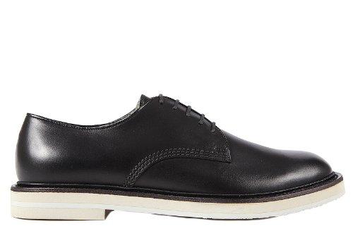 Gucci scarpe stringate classiche uomo in pelle nuove derby nero EU 44.5 281937 ARP00 1000