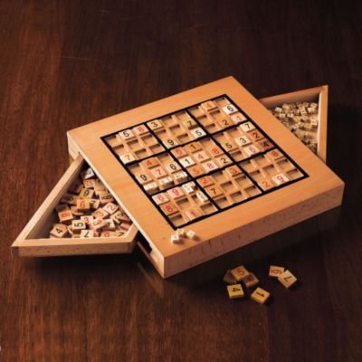 Picture of Gumps Wooden Sudoku Board (B001HW16LM) (Sudoku Puzzles)