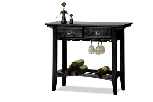 Table With Wine Storage front-22033