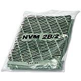 Numatic Sac HEPA-flo 15L Drum Vacuum Cleaner Dust Bag - Vacuum Cleaner Supplies (Drum Vacuum Cleaner, Dust Bag, Green, White, Polypropylene, Box, Numatic JVP180 James, CVC370 Charles)