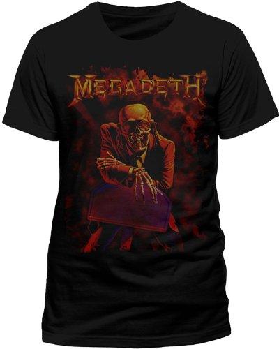 Megadeth - MEGADETH - PEACE SELLS, T-shirt da uomo, Nero (Schwarz (Schwarz)), Medium