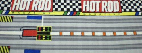 Hot Rod Magazine Area Rug