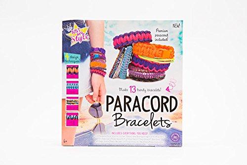 Just My Style Paracord Bracelets Kit, Makes 10 Bracelets (Make Your Own Paracord Bracelet compare prices)