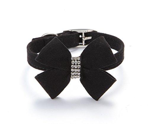 BINGPET-BA2042-Bow-Tie-Crystal-Boy-Girl-Dog-Collar-Designer-Fancy-Bling-Rhinestone-Collars-for-Dogs