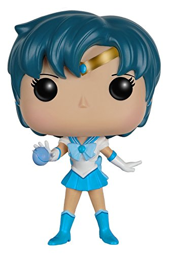Funko POP Anime: Sailor Moon - Sailor Mercury Action Figure - Funko Pop! Animation: