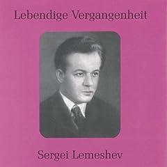 Lebendige Vergangenheit - Sergei Lemeshev