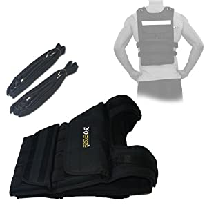 ZFOsports® - 80LBS ADJUSTABLE WEIGHTED VEST