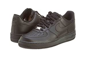 Nike Men's Air Force 1 Basketball Trainers 315122 Black/Black 10.5