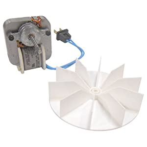 Broan Replacement Bath Ventilator Motor and blower wheel # 97012038, 50 CFM, .7 amps; 120 Volts
