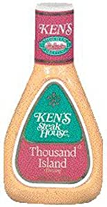 *Ken's Steak House Thousand Island Salad Dressing 16 oz (Pack of 6)