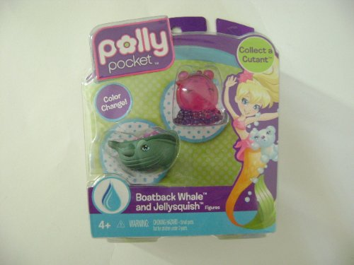 Polly Pocket Collect a Cutant Boatback Whale & Jellysquish