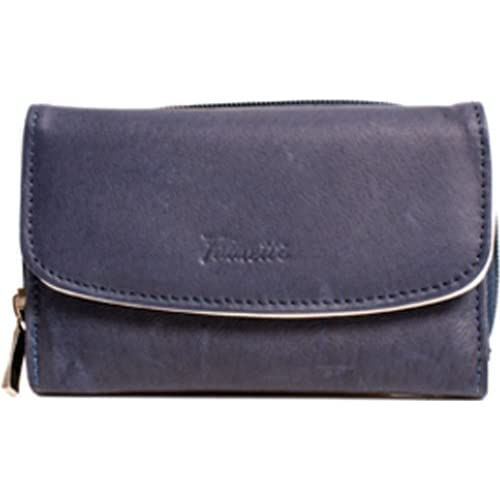 Fabretti Ladies Leather Purse with Border Detail. Assorted Colours available.
