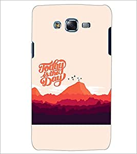 PrintDhaba QUOTE D-7014 Back Case Cover for SAMSUNG GALAXY J7 (Multi-Coloured)