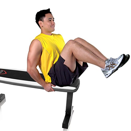Cap barbell flat weight bench sporting goods exercise fitness benches Cap strength weight bench