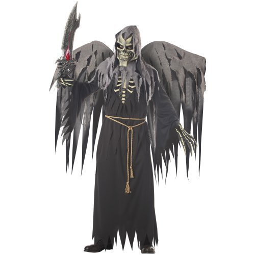California Costume Angel of Death with Wings