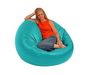 Amazon Com Comfy Bean Beanbag Large Vinyl Aqua Bean