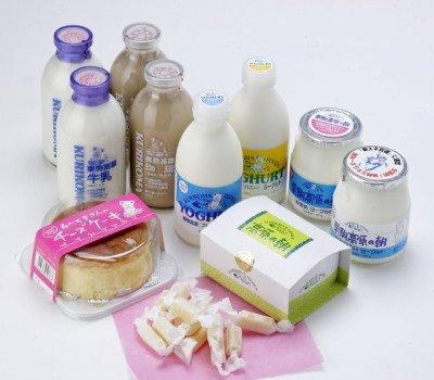 栗駒高原 まるごとセット (高原牛乳、コーヒー牛乳、ヨーグルト、スイーツセット)