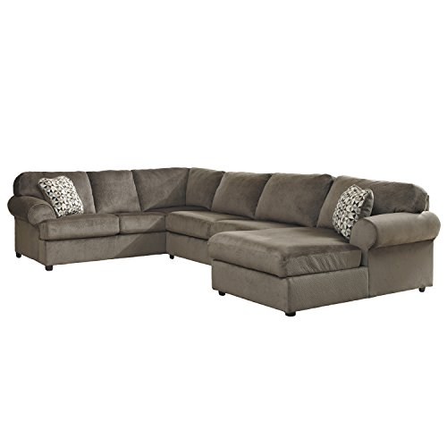 Flash furniture jessa place sectional sofa dune fabric for Sectional sofa placement