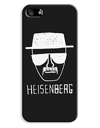 Black & White Heisenberg Walter White Cartoon iPhone 5 5S Hard Case Cover
