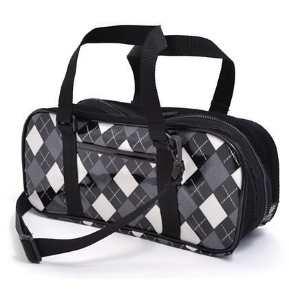 kids-paint-bag-rated-on-style-n2104500-made-by-nippon-black-argyle-bag-only-japan-import-by-colorful