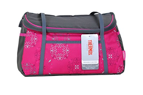 Thermos Raya 9 Can Tote Caprice (Pink And Grey) front-1067039