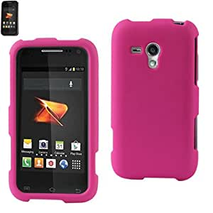 Reiko RPC10-SAMM830HPK Slim and Durable Rubberized Protective Case for Samsung Galaxy Rush M830 - Retail Packaging - Hot Pink