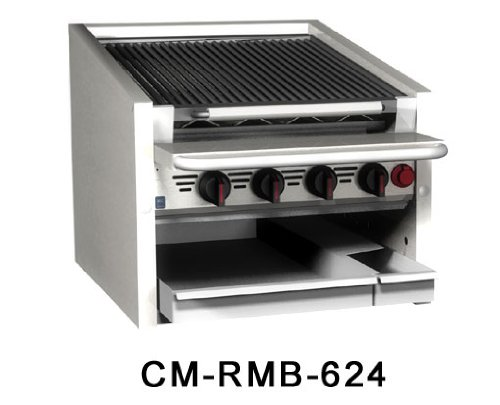 "Magikitch'n Radiant Charbroiler counter 48"" - CM-RMB-648"
