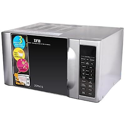 IFB 20PM1S 20-Litre 1200-Watt Solo Microwave Oven (Metallic Silver)
